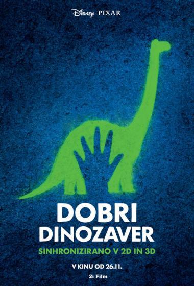 Dobri dinozaver (sinhronizirano) - poster