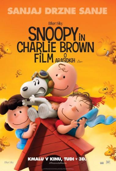 Snoopy in Charlie Brown: Film o Arašidkih 3D (sinhronizirano) - poster