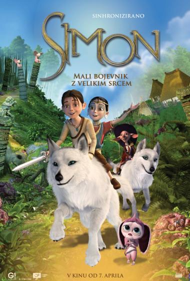 Simon: Mali bojevnik z velikim srcem (sinhronizirano) - poster