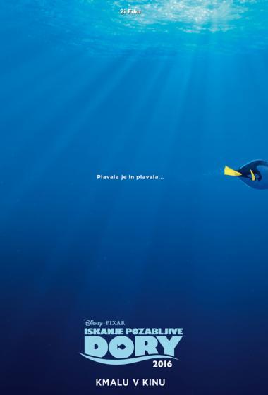 Iskanje pozabljive Dory (sinhronizirano) - poster