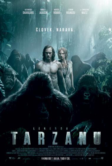 Legenda o Tarzanu - poster