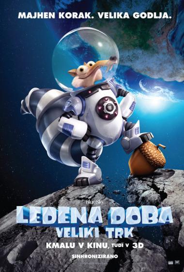 Ledena doba 5: Veliki trk 3D (sinhronizirano) - poster