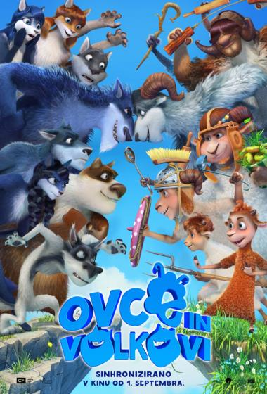 Ovce in volkovi (sinhronizirano) - poster