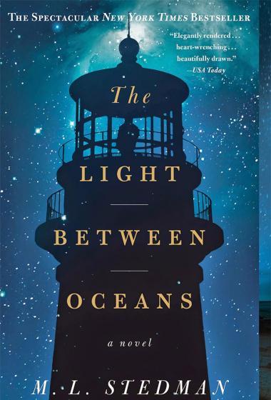 Luč sredi morja - poster