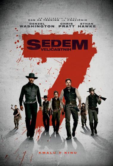 Sedem veličastnih - poster