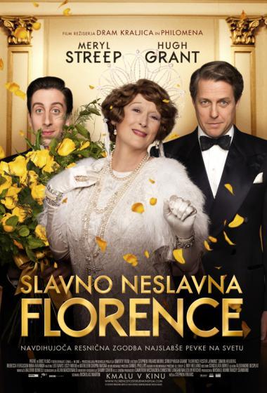 Slavno neslavna Florence - poster