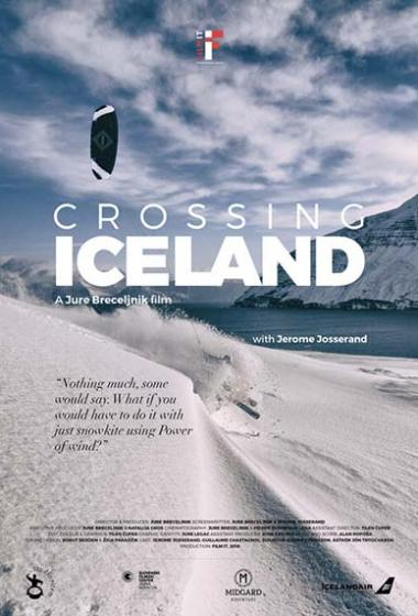 Prečkanje Islandije - poster