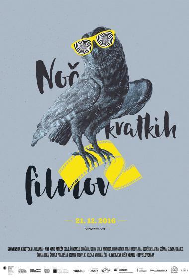 Noč kratkih filmov   Izbor 19. FSF (Vstop prost)  - poster