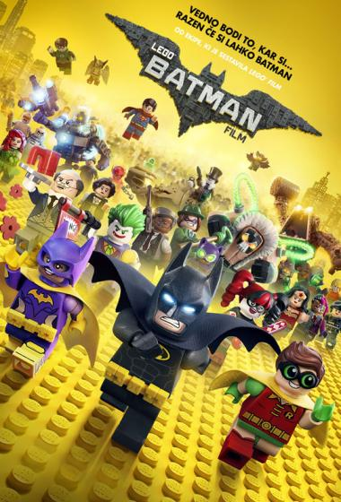 LEGO Batman Film 3D (sinhronizirano)  - poster