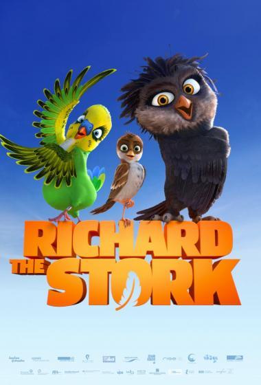 Vrabček Richard (sinhronizirano) - poster