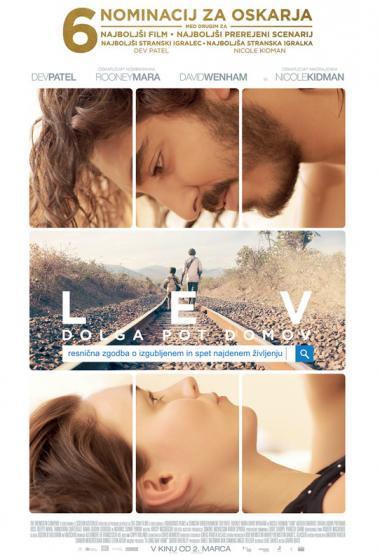 Lev: Dolga pot domov | Filmsko gledališče - poster