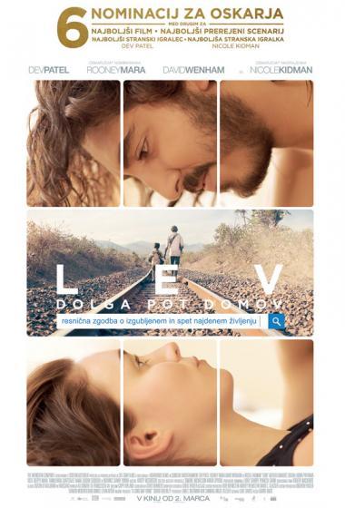 Lev: Dolga pot domov  - poster
