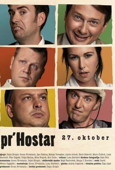 Pr Hostarjev kino dan za 1€ - poster
