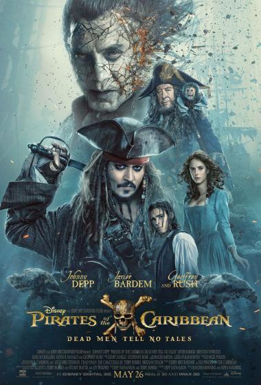 Pirati s Karibov: Salazarjevo maščevanje 3D - poster