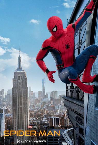 Spider-Man: Vrnitev domov - poster