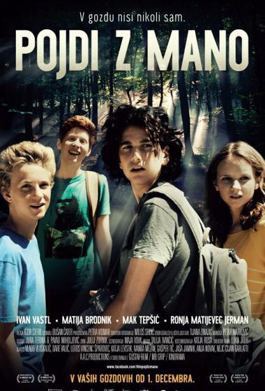 Pojdi z mano   Kino nad mestom (vstop prost)  - poster