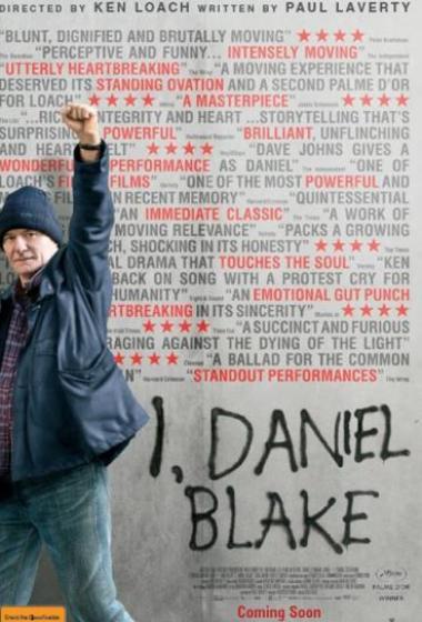 Jaz, Daniel Blake | Kino nad mestom (vstop prost)  - poster