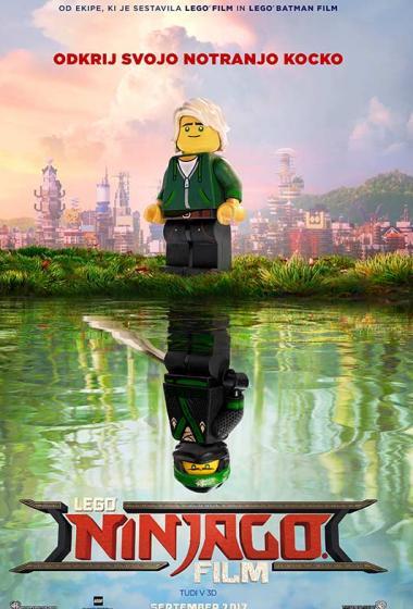LEGO Ninjago Film 3D (podnapisi)  - poster