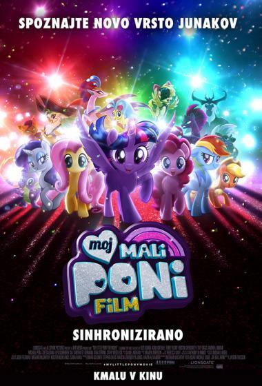 Moj mali poni: Film (sinhronizirano) - poster