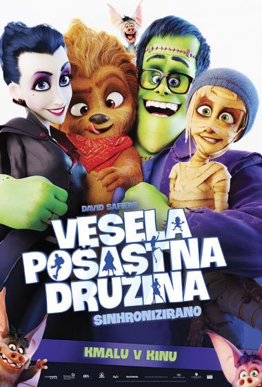Vesela pošastna družina (sinhronizirano) + delavnica - poster