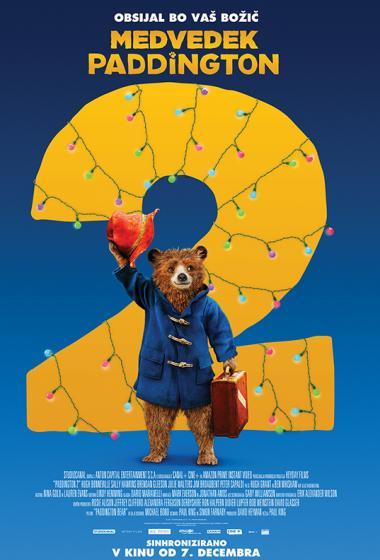 Medvedek Paddington 2 (sinhronizirano)  - poster