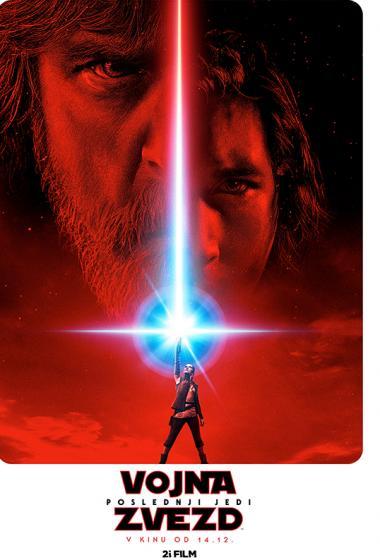 Vojna zvezd: Poslednji Jedi 3D - poster