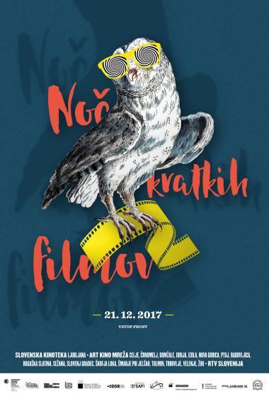 Noč kratkih filmov 2017 - Otroški program (vstop prost)  - poster