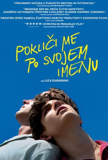 Pokliči me po svojem imenu | Filmsko gledališče - poster
