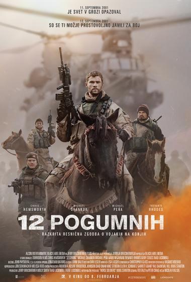 12 Pogumnih | Resnična zgodba - poster