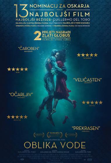 Oblika vode | Filmsko gledališče - poster