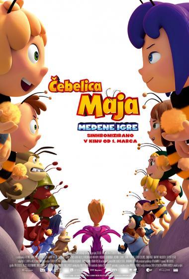Čebelica Maja: Medene igre (sinhronizirano) - poster