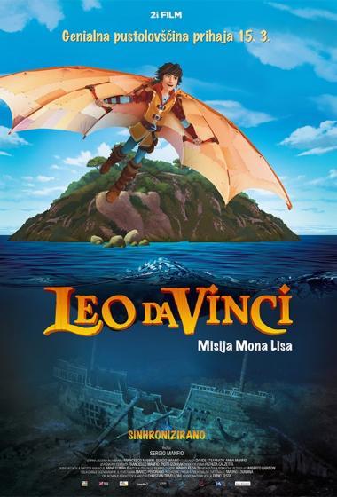 Leo Da Vinci: Misija Mona Lisa (sinhronizirano) - poster