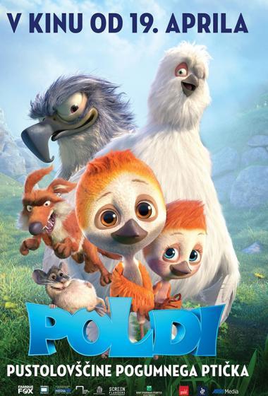 Poldi, pustolovščine pogumnega ptička 3D (sinhronizirano) - poster