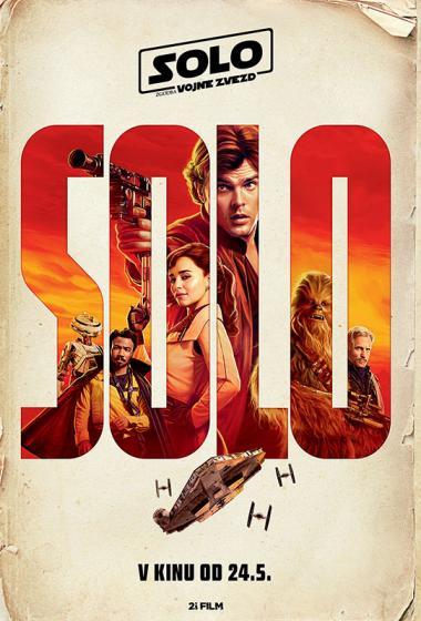 Solo: Zgodba Vojne zvezd - poster