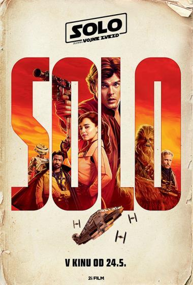 Solo: Zgodba Vojne zvezd 3D - poster