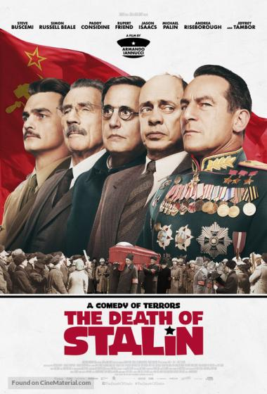 Stalinova smrt - poster