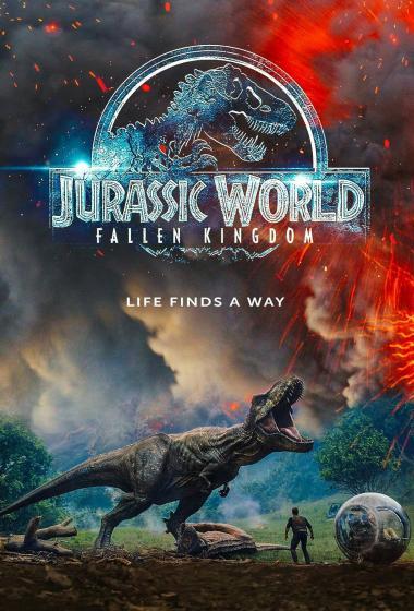 Jurski svet: Padlo kraljestvo 3D - poster