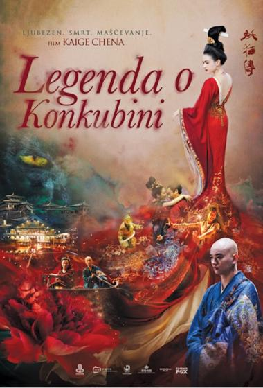 Legenda o konkubini - poster