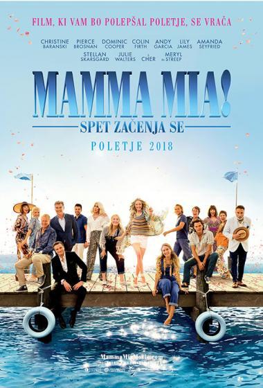 Mamma Mia! Spet začenja se - poster
