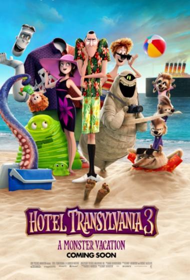 Hotel Transilvanija 3: Vsi na morje (sinhronizirano) - poster