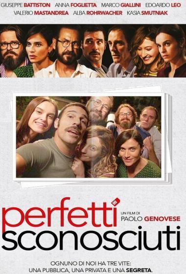Popolni tujci | Kino nad mestom (vstop prost)  - poster