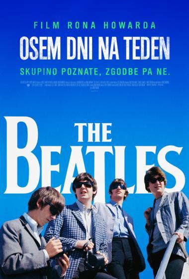 The Beatles: Osem dni na teden   Kino nad mestom (vstop prost) - poster