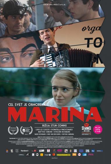 Marina | Kino nad mestom (vstop prost)  - poster