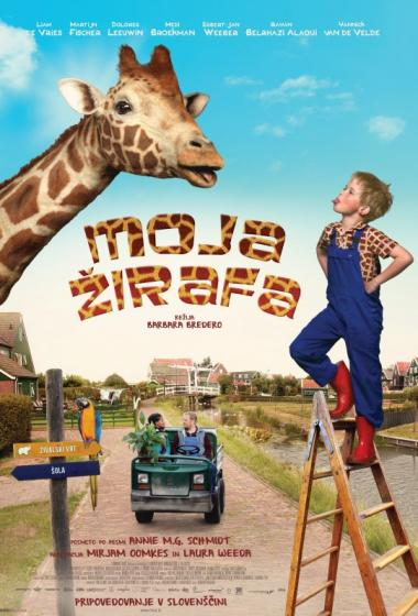 Moja žirafa (pripovedovanje v slovenščini)  - poster