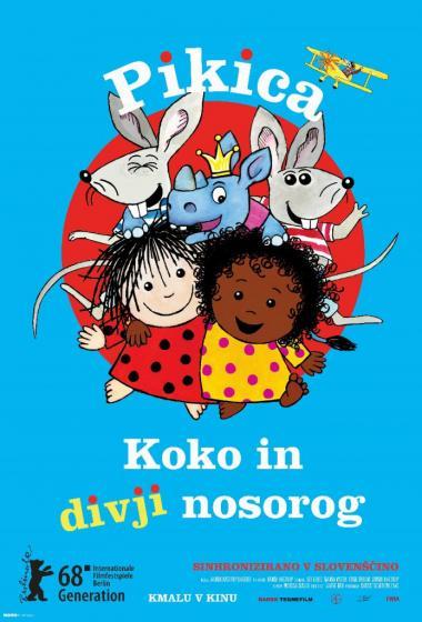 Pikica, Koko in divji nosorog (sinhronizirano) - poster