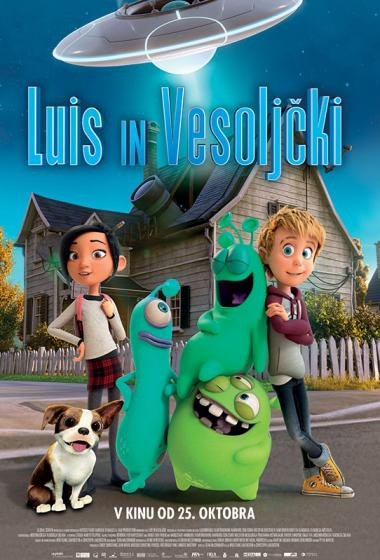 Luis in vesoljčki (sinhronizirano) - poster