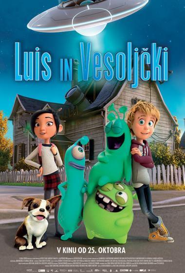Luis in vesoljčki (sinhronizirano) + delavnica - poster