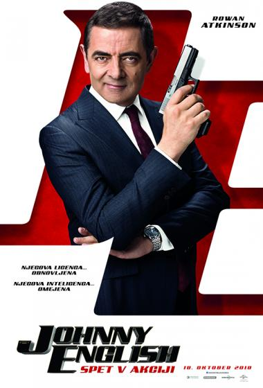 Johnny English spet v akciji - poster