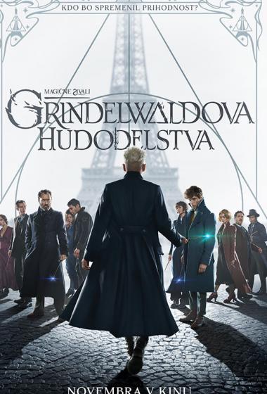 Magične živali: Grindelwaldova hudodelstva  3D - poster