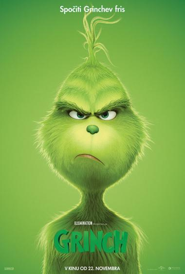 Grinch (sinhronizirano) 3D - poster